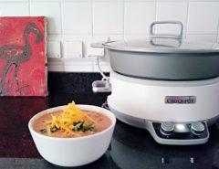 meksykanska zupa z kurczakiem