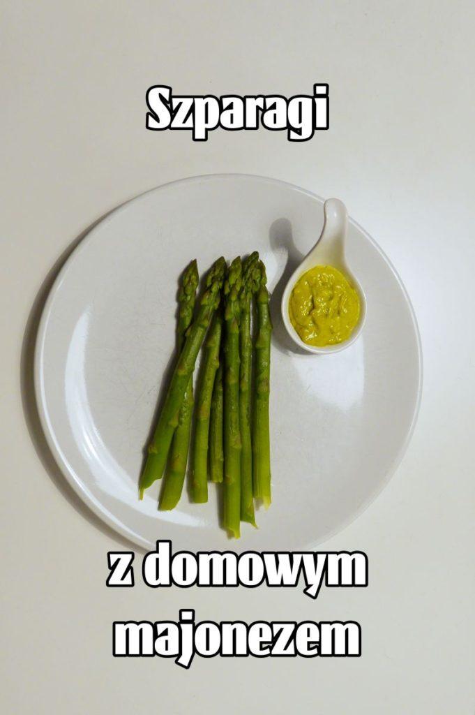 szparagi z majonezem