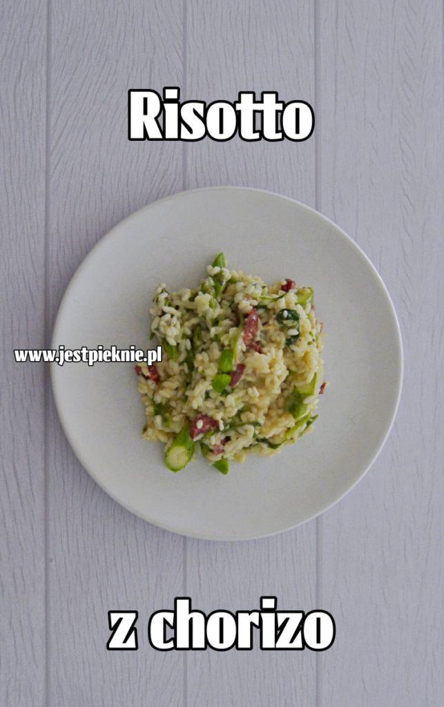 risotto z chorizo