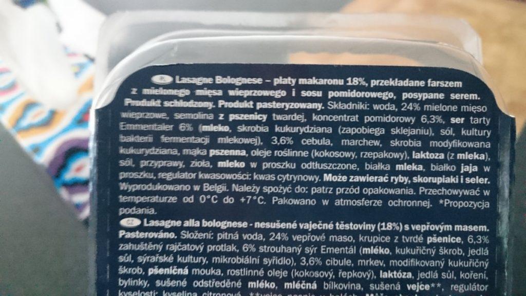 tydzien wloski w lidlu lasagne sklad