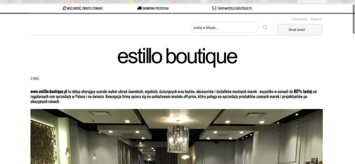 estillo boutique podrobki