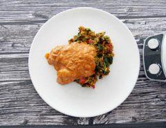 ryz z warzywami