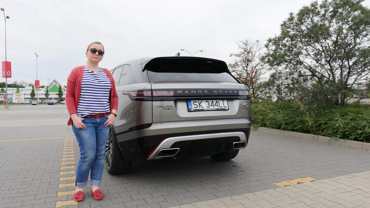 Range Rover Velar – Jest Pięknie za kierownicą