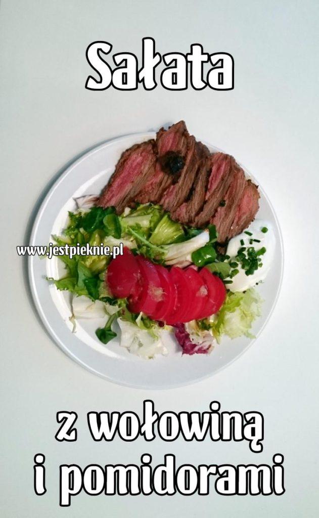 salata z wolowina i pomidorami 02