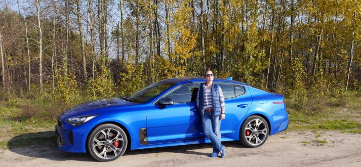 kia stinger moj test