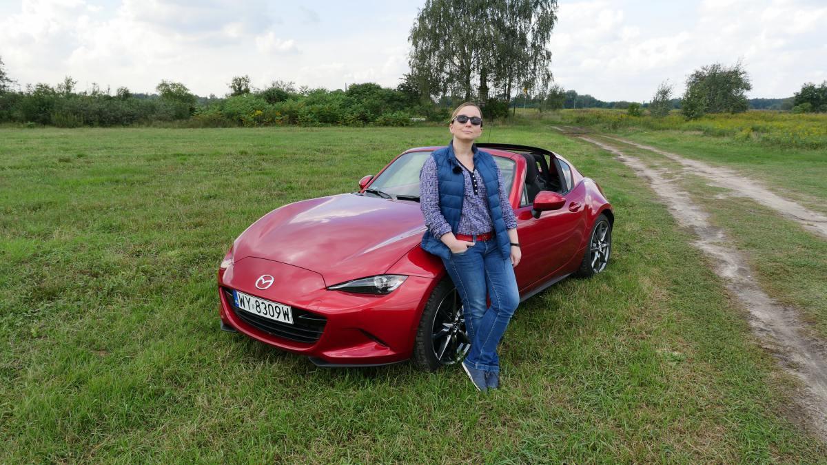 Mazda MX-5 RF – Jest Pięknie za kierownicą
