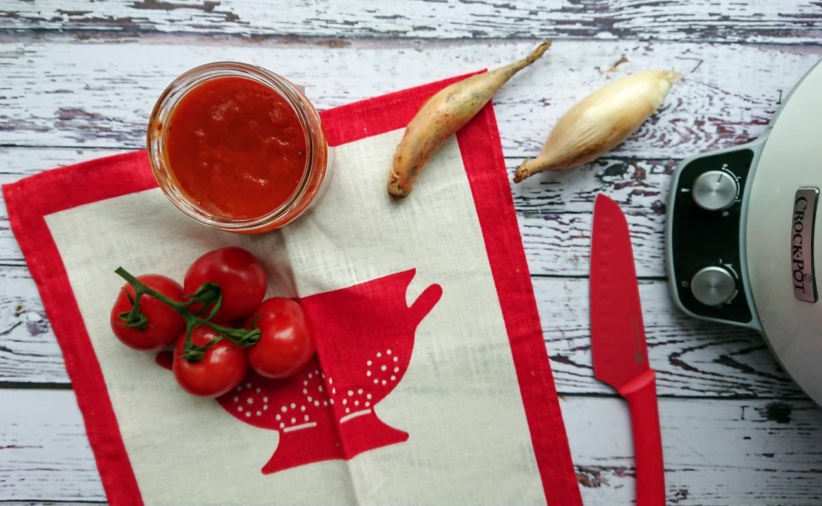 Sos pomidorowy z wolnowaru