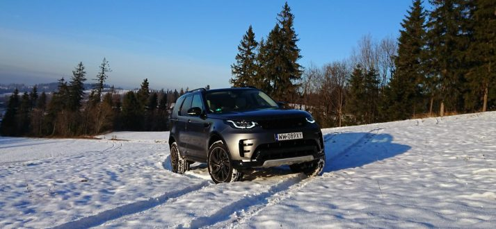 land rover discovery test