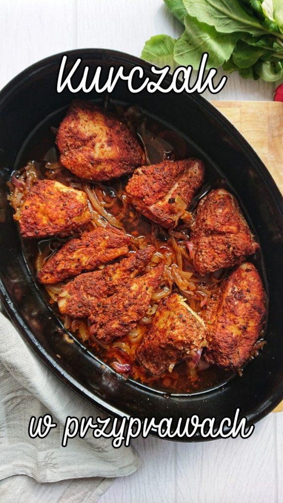 kurczak w przyprawach