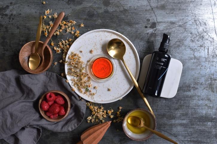 Oliwka do ciała rumianek i malina Umami Cosmetics: mój test