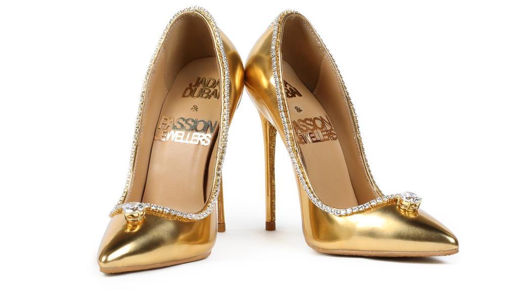 Najdroższe buty na świecie – Jada Dubai