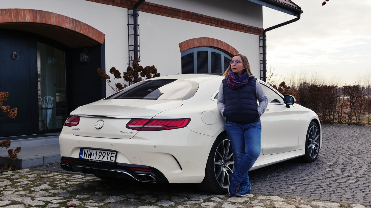 Mercedes-Benz S560 Coupe: mój test [+ WIDEO]
