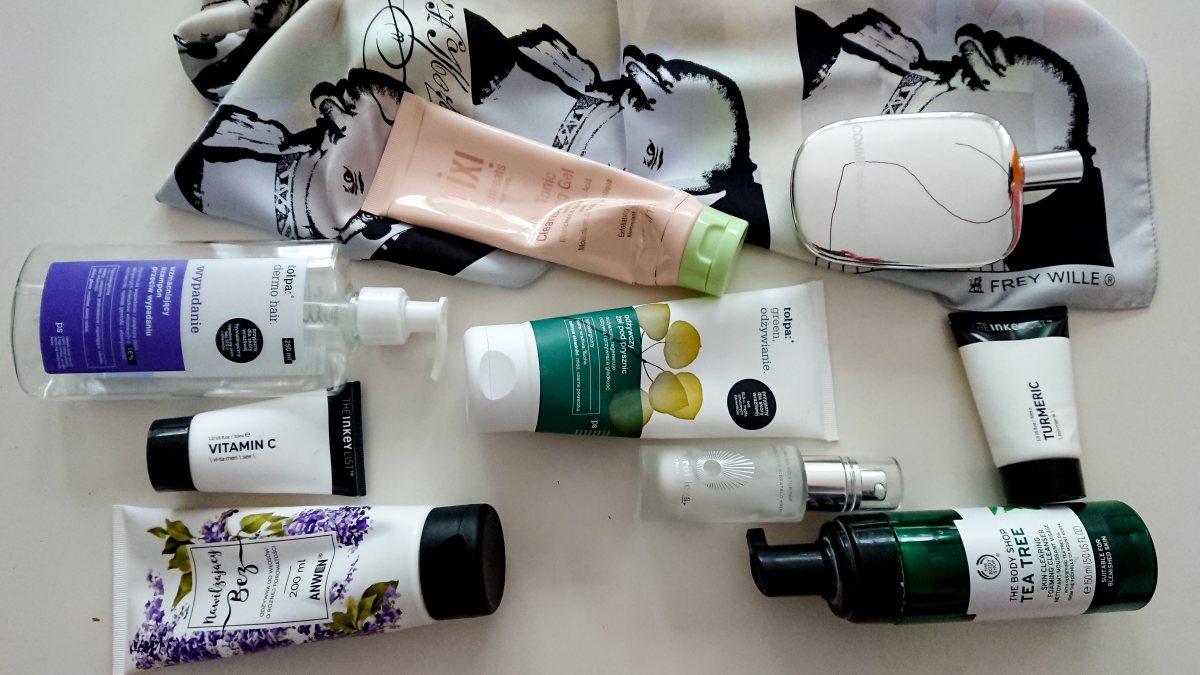Projekt denko lipiec 2019: jakie kosmetyki zużyłam?