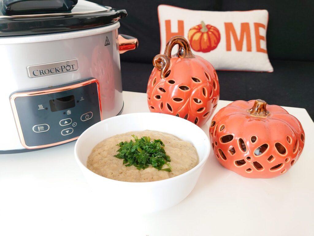 zupa krem z porow z wolnowaru
