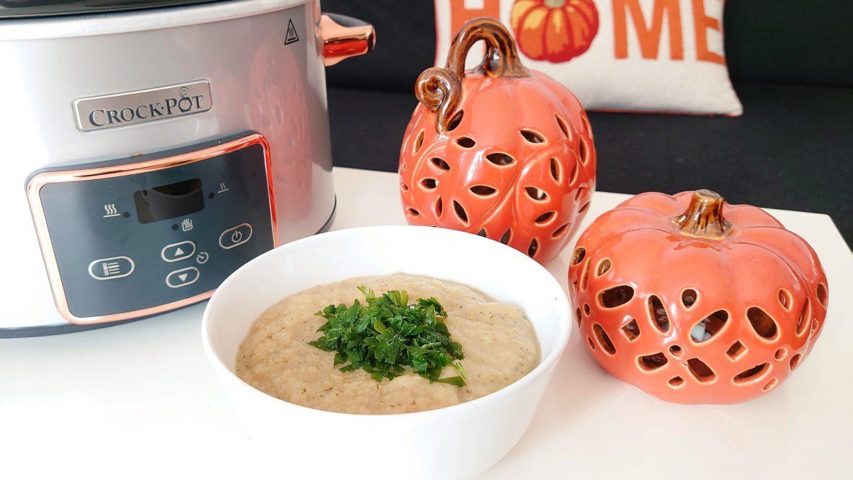 Zupa-krem z porów (z wolnowaru)