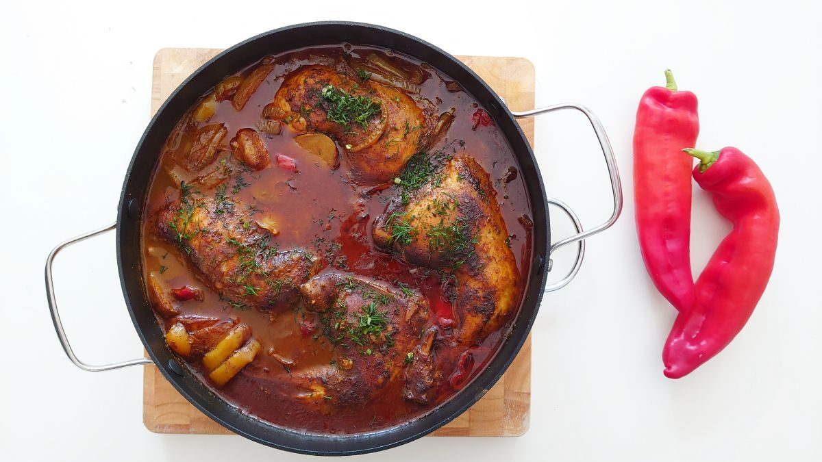 Kurczak po arabsku – chicken tabsi