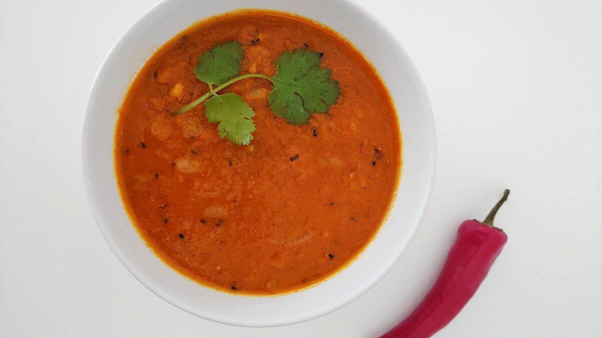 Indyjska zupa z dyni