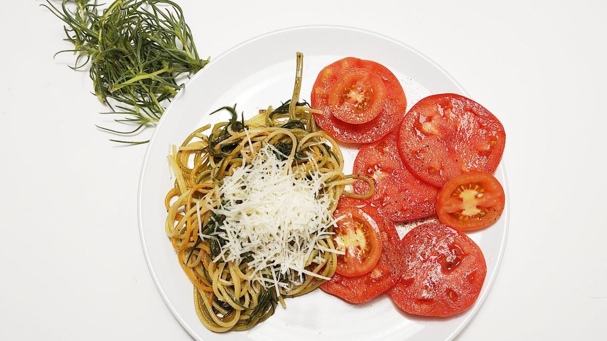 Makaron z solanką – spaghetti z agretti