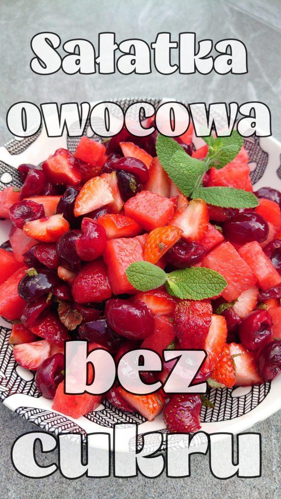 salatka owocowa bez cukru