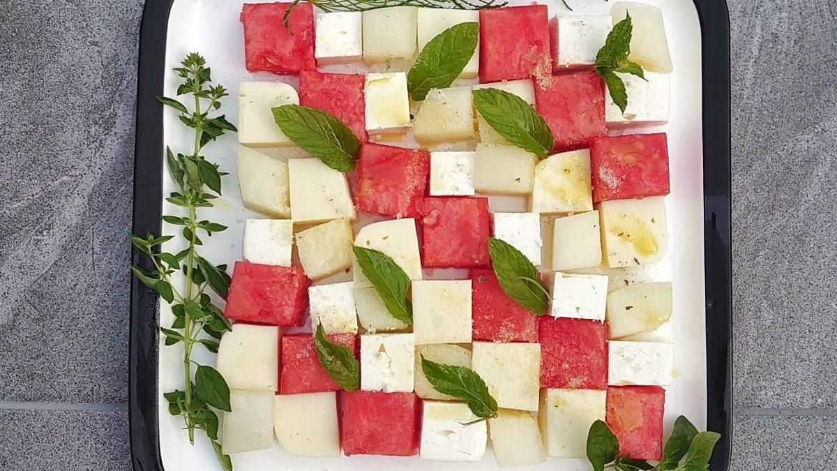 Deska serów na imprezy – szachownica