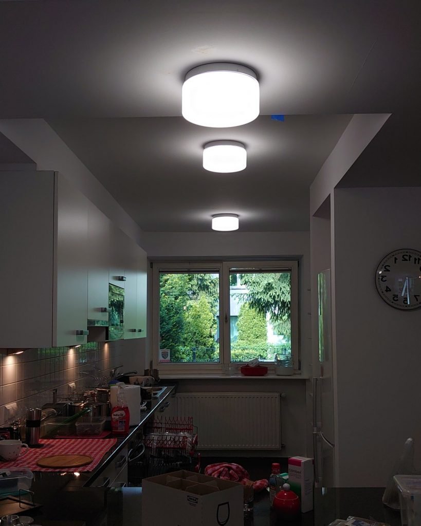 remont domu oswietlenie